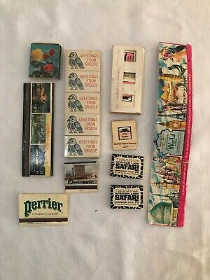 13 Vintage Matches - Collectable