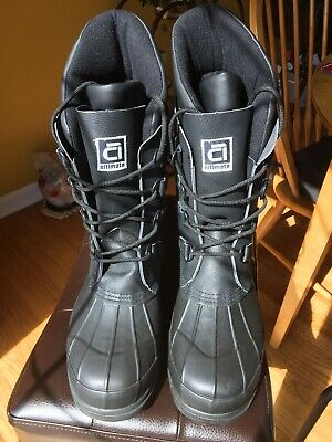 Altimate Altra -70 Boots - Leather Waterproof Snowmobiling Boots - Men's Size 11