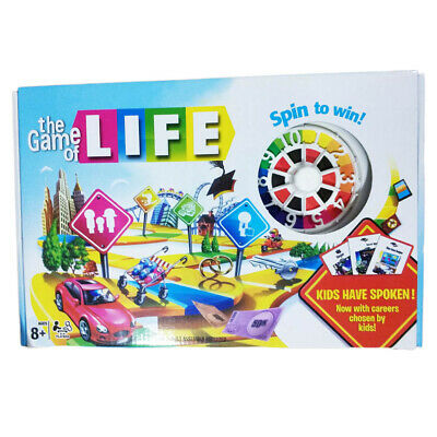 The Game Of Life KIDS HAVE SPOKEN! Board game