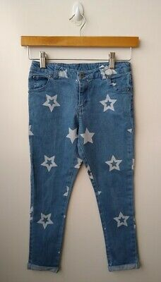 SEED HERITAGE Blue Star 3/4 Jeans - Size 7-8