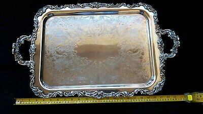Vintage Ascot Sheffield Design Waiter Tray