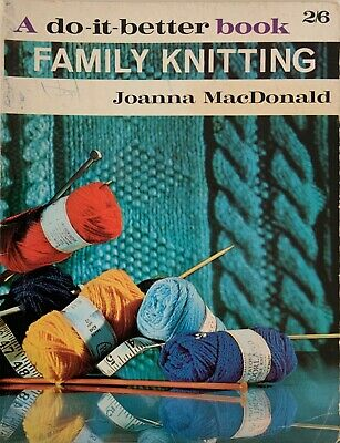 Vintage Family Knitting Instructions and Patterns book