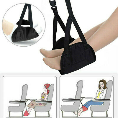 Travel Airplane Comfy Hanger Foot Rest Hammock Made Memory Foam Flight Hammock