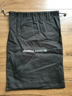 Authentic Nicholas Kirkwood Dustbag Black