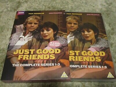 Just Good Friends Series 1 to 3 Complete Collection DVD NEW DVD (EKA50045)