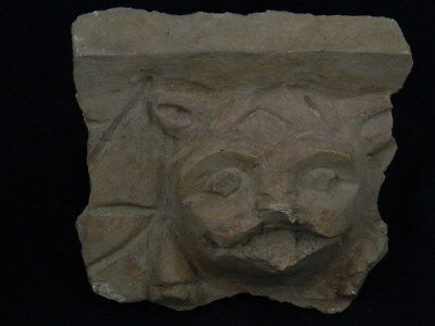Ancient Stucco Lion Head Gandhara/Gandharan 200 AD #TR749