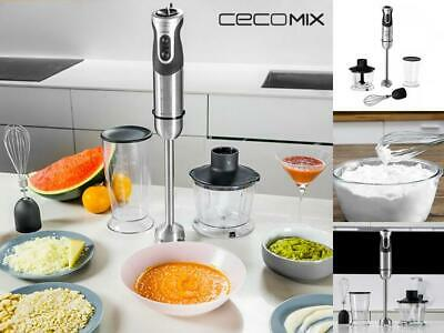 Cecomix Titane Full 4062 Multifunktions-Handmixer 1000W Pied Mixeur
