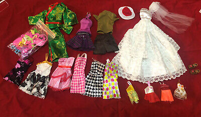 As shown in figure (16 clothes+ accessories) for 11.5in DoLL Xmas Birthday Gift
