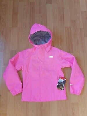 Girls The North Face dryvent Hooded Rain Jacket Size S years 7/8 bnwt