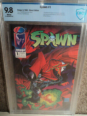 SPAWN #1 CBCS 9.8 WP! 1st Spawn by Todd McFarlane! Batman Spiderman cgc 2 3 4 5