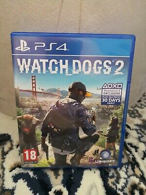 Watch Dogs 2 by Ubisoft Video Game for Sony PlayStation 4