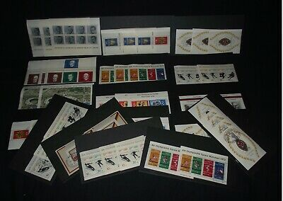 West Germany m/sheets x 50+ (cat val £200+) with duplication, mint and used.