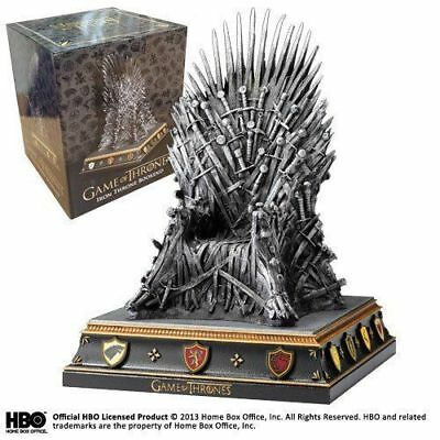 Game of Thrones Noble Collection the Throne of Swords Bookend Iron Throne Statue
