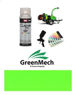 Greenmech Wood Chipper Green Paint High Endurance Enamel Paint 400ml Aerosol