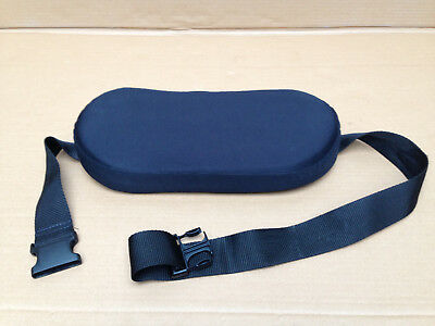Invacare Visco - Lumbar Cushion Support Pad Adjustable Strap - Mobility Scooter