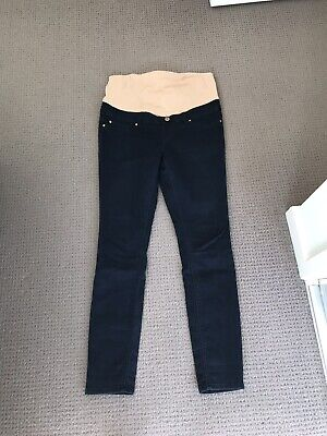 Jeanswest Maternity Navy Blue Jeans  Size 10 RRP $100
