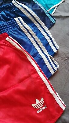 Lotto Adidas Sprinter Pantaloni Vintage Shiny Shorts Glanz