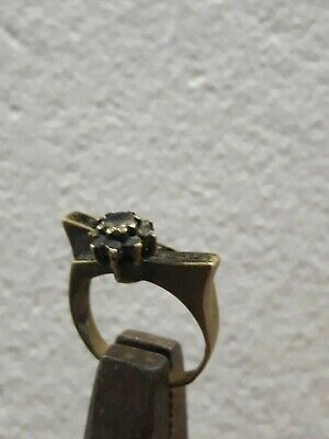Rare Ancient ROMAN Bronze Ring, artifact, vintage Promise Ring Amazing Piece.