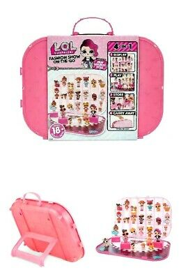 NEW LOL Surprise Fashion Show On-the-Go  Case Storage/Playset With Doll Included