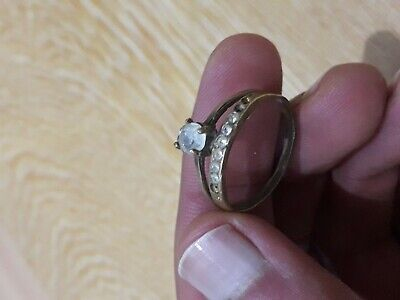 Rare Ancient ROMAN Bronze Ring Mediaval, Artifact, Promise and Proposal Ring