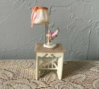 Vintage Petite Princess Dollhouse Lyre Table Set 1964 Fantasy Furniture