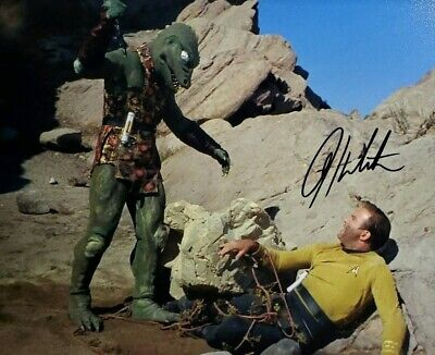 William Shatner Hand Signed 8X10 Photo W/ Holo COA Star Trek