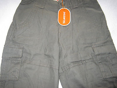 Blue Zoo Girls Trousers Aged 6 Green Khaki  Brand  New With Tags