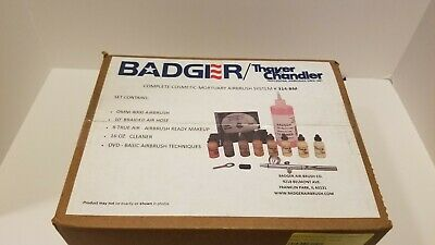 Thayer Chandler OMNI 4000 Airbrush Makeup Mortuary System kit