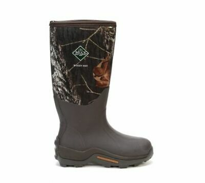 Muck Boots Mens Woody Max ColdConditions Hunting Boot, Bark,Mossy Oak Break Up C