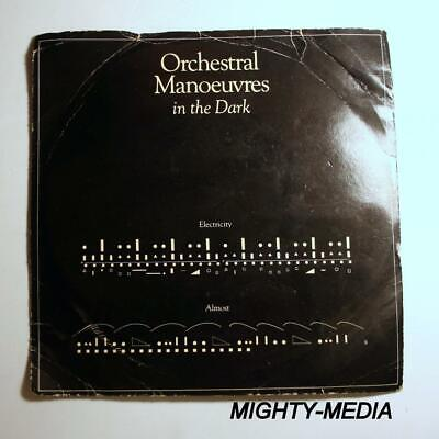 "ORCHESTRAL MANOEUVRES IN THE DARK  - ELECTRICITY - 7"" Vinyl Record : EX (p39)"