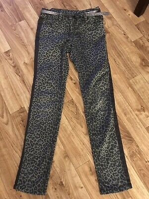 Girls Next 10-11 Years Trousers With Belt