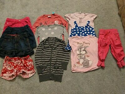 Large Bundle Of Girls Clothes Age 5-6 Years Including Ted Baker,  Zara, Next,...
