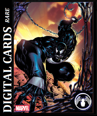 Topps Marvel Collect Card Trader Topps Showcase Venom #1