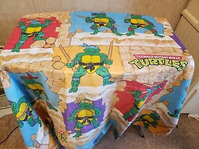 TMNT Teenage Mutant Ninja Turtles Fitted Sheet Twin
