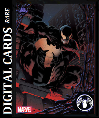Topps Marvel Collect Card Trader Topps Showcase Venom #8