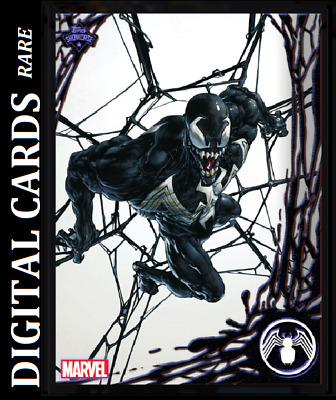 Topps Marvel Collect Card Trader Topps Showcase Venom #7
