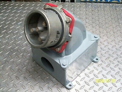 Meltric Ds200 37-28043-4X Inlet / Plug 200 Amp 200A 480Vac Type 4X