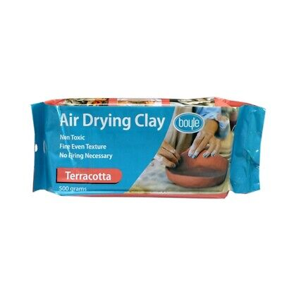 Terracotta Air Drying Clay 500gm