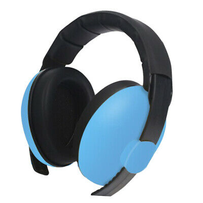 1pc Kid Anti Noise Earmuffs Noise Reduction Sleep Protectors Muff Blue