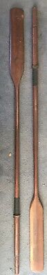 1940's Solid Timber Boat Oars