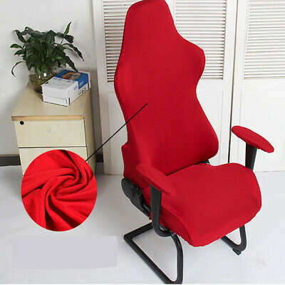 Executive Office Chair Cover Computer Racing Gaming Swivel Recliner Slipcover AU