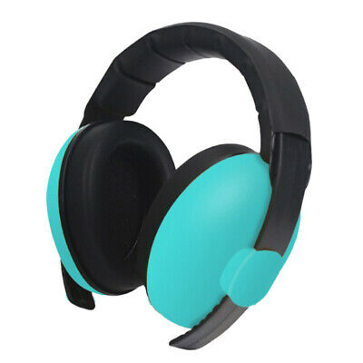 1pc Kids Anti Noise Earmuffs Folding Ear Defenders Protectors Muff Green