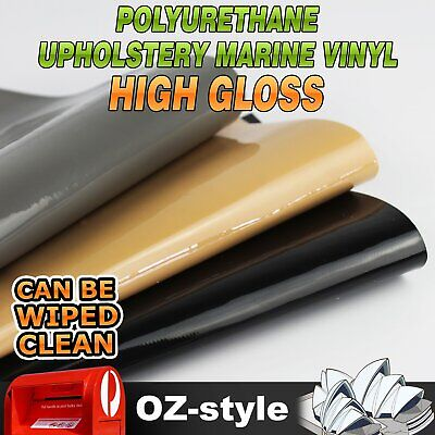 Premium Auto Upholstery Vinyl Fabric Gloss PU Leather Material Strong Durability