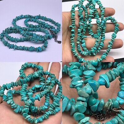 Antique Stunning Old Afghanistan turquoise Lovely Necklace