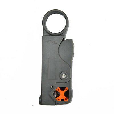 Rotary Coaxial Coax Cable Cutter Stripper Tool for RG58 RG6 RG59 Lead Insulation