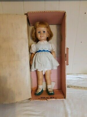 Chatty Cathy In Box 1959 Red Blue Complete Cloth Over Voice Box