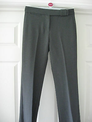 New Girls Bhs Grey School Uniform Trousers Girls Clothes H 152 Cms Age 12 Year