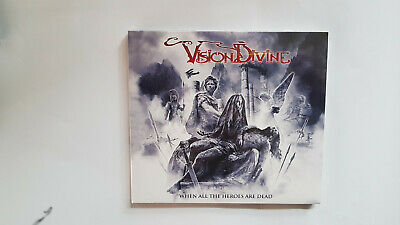 Vision Divine - When All the Heroes are Dead  - CD LTD DIGIPAK PACK - NEW ALBUM