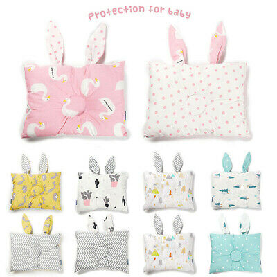 Soft Newborn Baby Infant Cotton Pillow Positioner Prevent Flat Head Anti Roll#DI