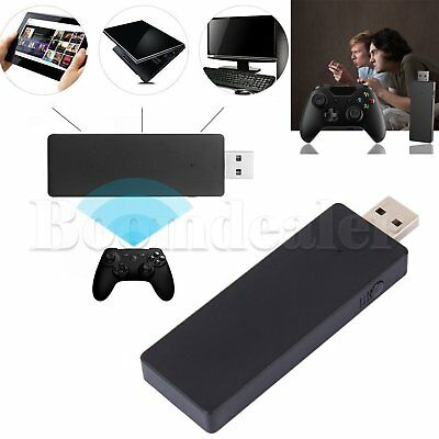 Wireless Controller USB Receiver Stick Adapter for Microsoft XBox One PC Windows